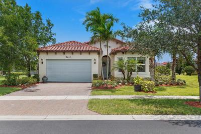 Royal Palm Beach Single Family Home For Sale: 2452 Bellarosa Circle