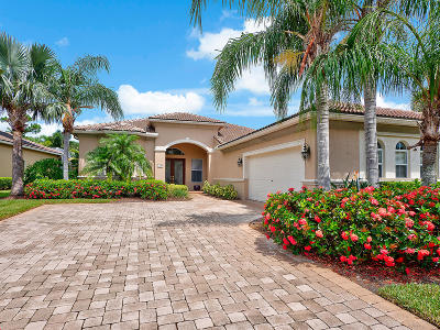 West Palm Beach Single Family Home For Sale: 7744 Preserve Drive