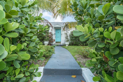West Palm Beach Single Family Home For Sale: 411 Maddock Street