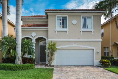 Boynton Beach Single Family Home Contingent: 4165 Key Lime Boulevard