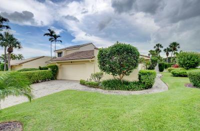 Boca Raton Single Family Home For Sale: 19616 Bay Cove Drive #19616
