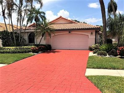 Delray Beach Single Family Home For Sale: 7753 Dundee Lane