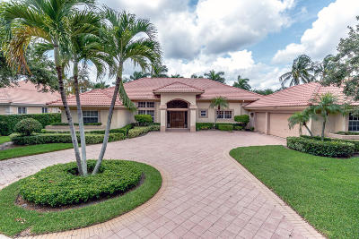West Palm Beach Single Family Home For Sale: 2701 Tecumseh Drive