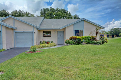 Tamarac Single Family Home Contingent: 7907 NW 62nd Court #D
