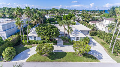Palm Beach Single Family Home For Sale: 117 El Mirasol