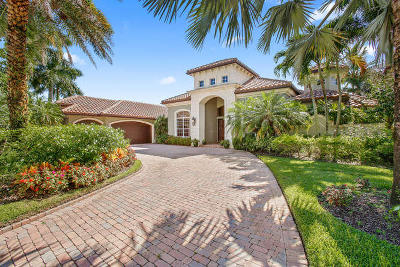 West Palm Beach Single Family Home For Sale: 7662 Hawks Landing Drive