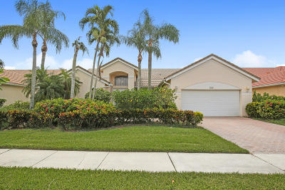 Boynton Beach Single Family Home For Sale: 7768 Bridlington Drive