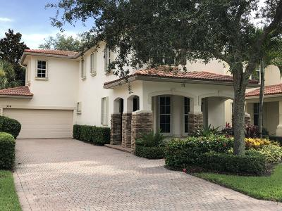 Palm Beach Gardens Single Family Home For Sale: 374 Columbus Street