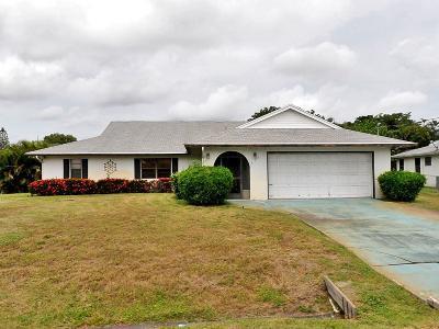 Port Saint Lucie Single Family Home Contingent: 217 SE Verada Avenue