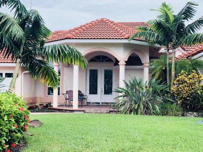 Wellington Single Family Home For Sale: 15691 Cypress Creek Lane