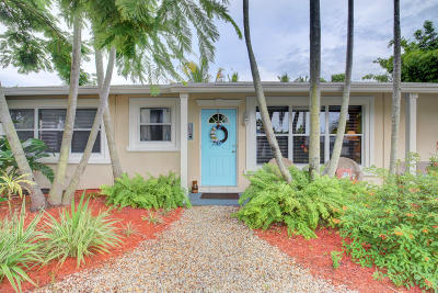 Delray Beach Single Family Home For Sale: 108 NE 18th Street