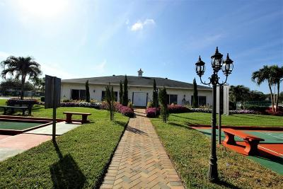 Boynton Beach Single Family Home For Sale: 10109 45th Trail S #267