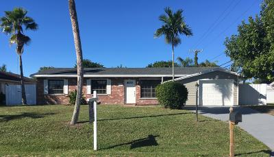 Palm Beach Gardens Single Family Home For Sale: 9627 Cypress Street