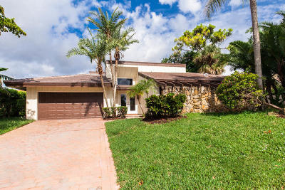 Delray Beach Single Family Home For Sale: 602 Lakewoode Circle W