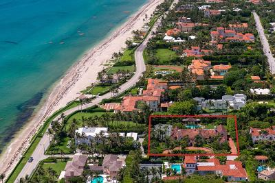 Palm Beach Single Family Home For Sale: 130 Banyan Road
