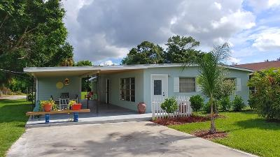 Palm City Single Family Home Contingent: 787 SW 33rd Street