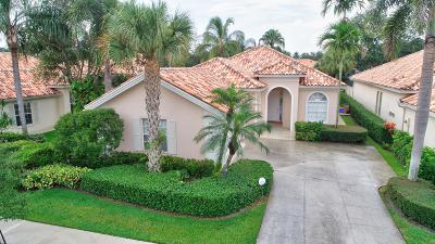 West Palm Beach Single Family Home Contingent: 7190 Deer Point Lane