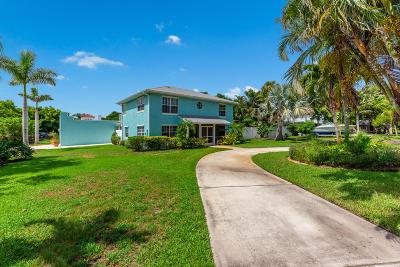 Stuart Single Family Home For Sale: 1034 SE Riverside Drive