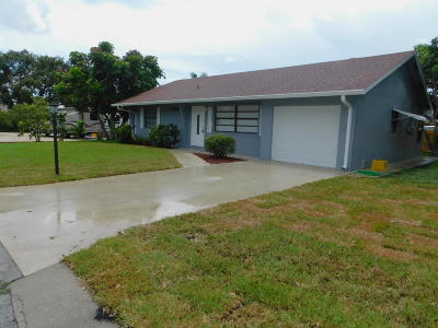 North Palm Beach Single Family Home For Sale: 1768 Len Drive