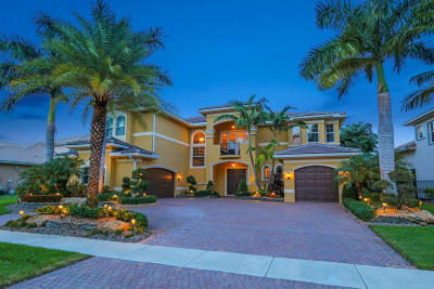 Boynton Beach Single Family Home For Sale: 11836 Windmill Lake Drive