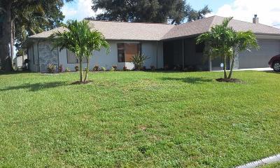 Port Saint Lucie Single Family Home For Sale: 2701 SW Ann Arbor Road