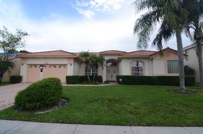 Boca Raton Single Family Home For Sale: 9387 Lake Serena Drive