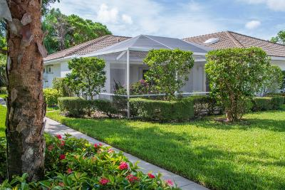 Palm Beach Gardens Single Family Home For Sale: 10501 Chapman Oak Court