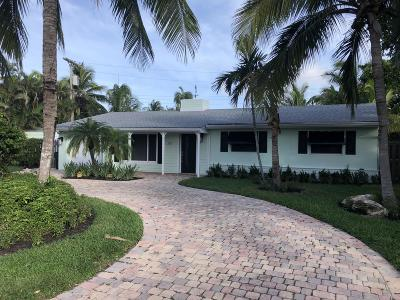 Delray Beach Single Family Home For Sale: 301 Enfield Road