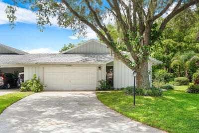 Hobe Sound Single Family Home For Sale: 13053 SE Cog Hill Court