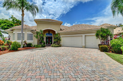 Boynton Beach Single Family Home Contingent: 8241 Muirhead Circle