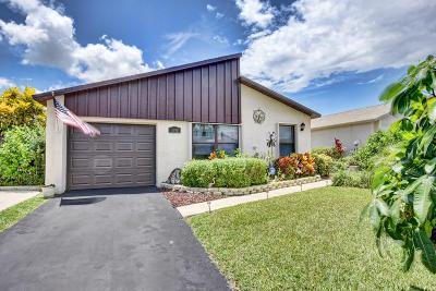 Boynton Beach Single Family Home Contingent: 5390 Mirror Lakes Boulevard