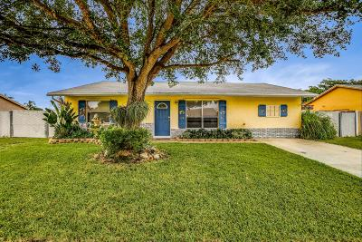 Lake Worth Single Family Home Contingent: 4872 Poseidon Place