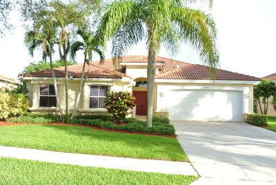 Lake Worth, Lakeworth Single Family Home For Sale: 6332 Old Medinah Circle