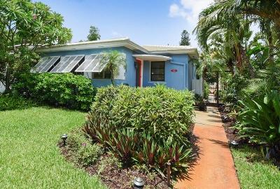 West Palm Beach Single Family Home For Sale: 505 27th Street
