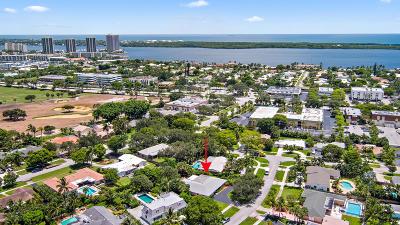 North Palm Beach Single Family Home For Sale: 407 Quadrant Road