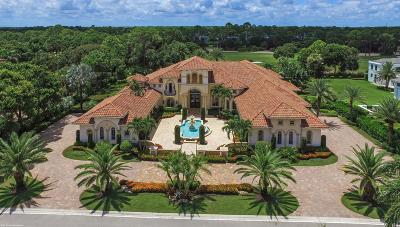 Palm Beach Gardens FL Single Family Home For Sale: $6,395,000
