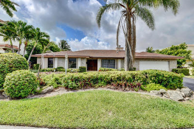 Delray Beach Single Family Home For Sale: 956 Fern Drive