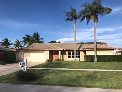 Boca Raton FL Single Family Home For Sale: $669,000