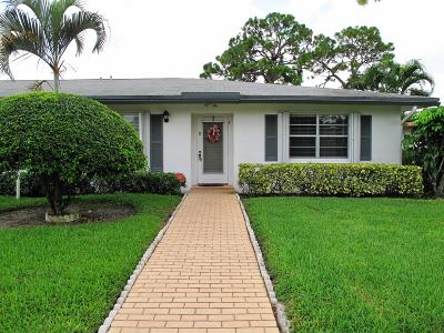 Delray Beach Single Family Home For Sale: 5368 Privet Place #D