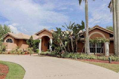 Wellington Single Family Home For Sale: 15610 Enstrom Road