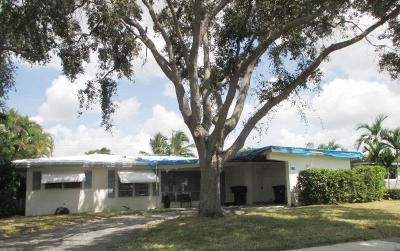 Fort Lauderdale Single Family Home For Sale: 5711 NE 22nd Terrace