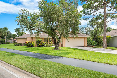 Palm Beach Gardens Single Family Home For Sale: 6746 Touchstone Circle