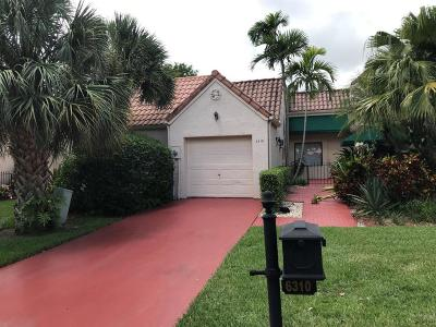 Boca Raton Townhouse For Sale: 6310 Via Tierra