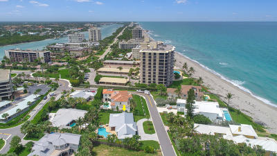 Jupiter Single Family Home For Sale: 48 Ocean Drive