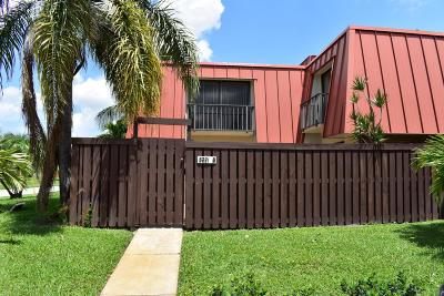Palm Beach Gardens Townhouse For Sale: 3221 Meridian Way S #B