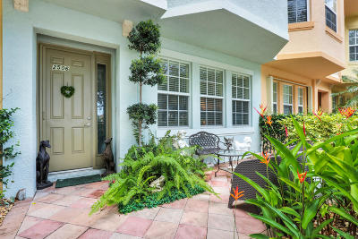 Palm Beach Gardens Townhouse For Sale: 2506 San Pietro Circle