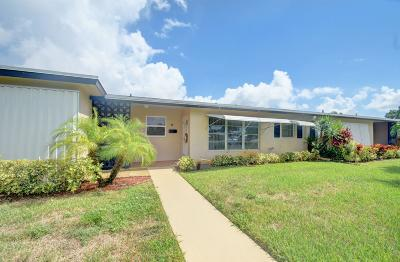 Delray Beach Single Family Home For Sale: 895 North Drive #B