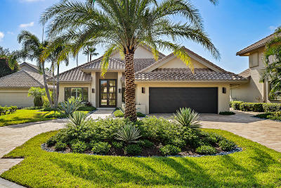 Palm Beach Gardens FL Single Family Home For Sale: $2,595,000