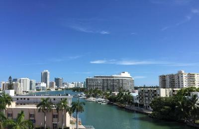 Miami Beach Condo For Sale: 7118 Bonita Drive #604