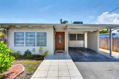 Pompano Beach Single Family Home Contingent: 1230 NE 23rd Place